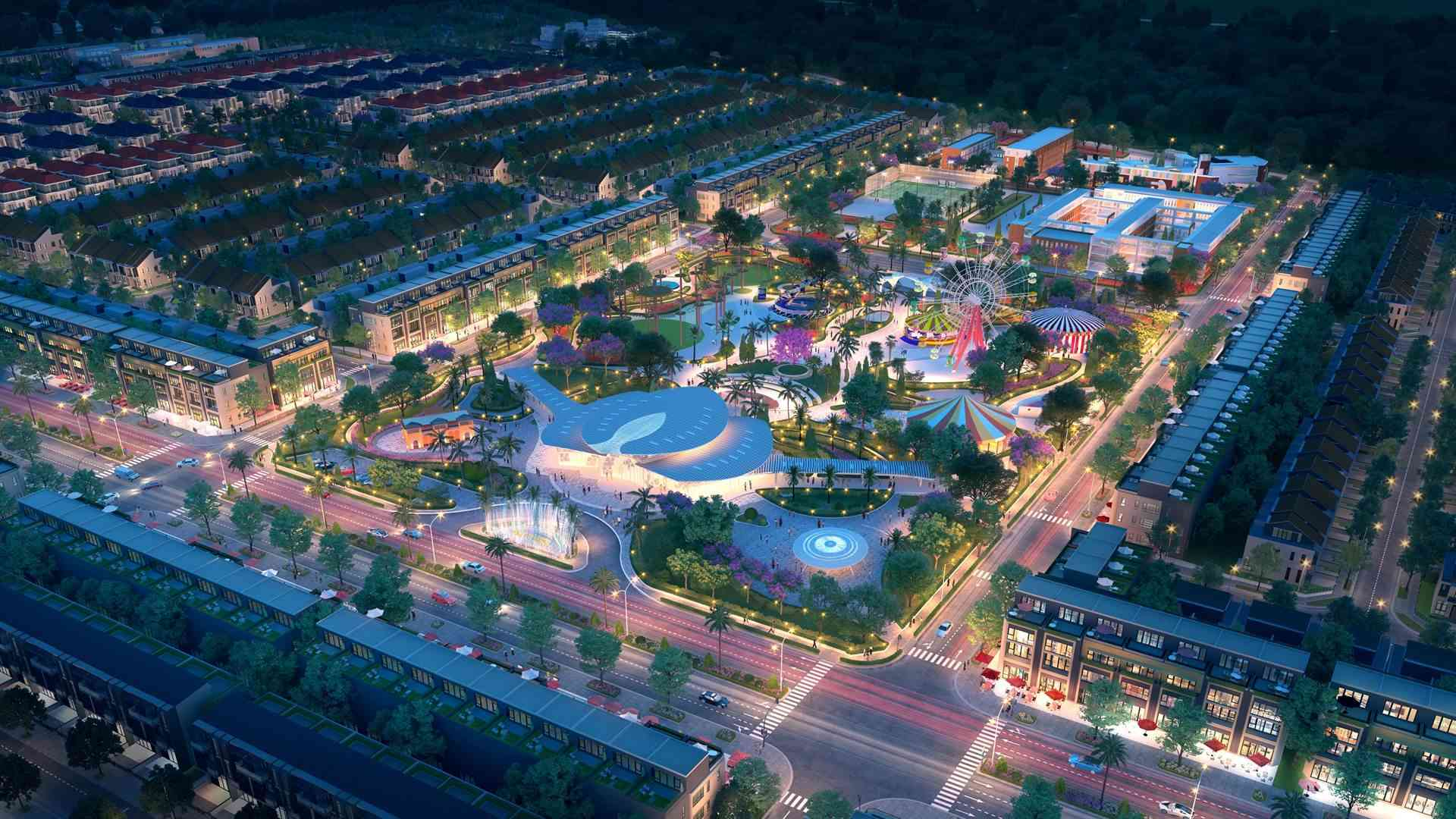 cong-vien-sky-park-ve-dem-toi-gem-sky-world-long-thanh-shophousevn