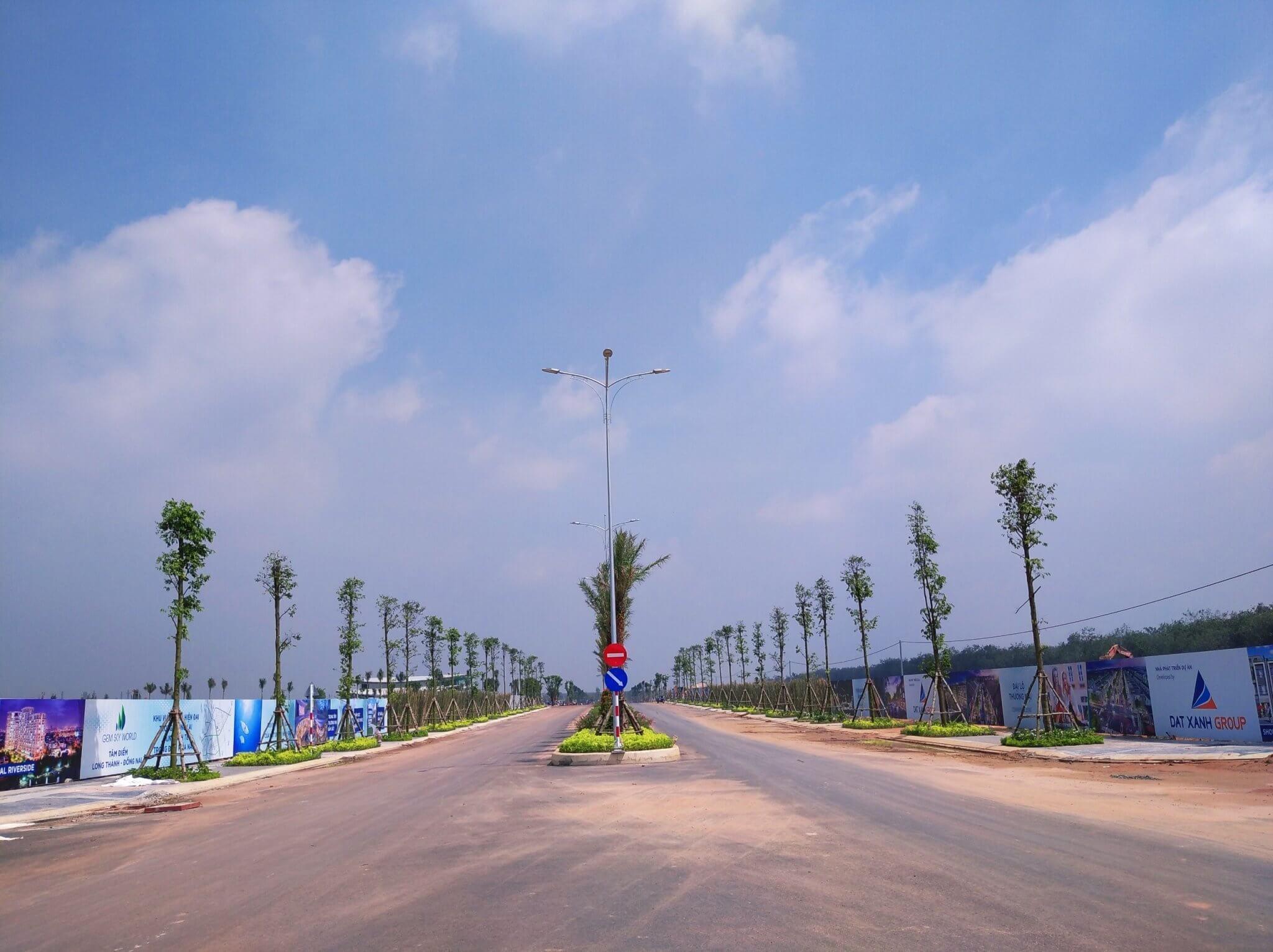 truc-duong-noi-khu-Gold-Silk-Boulevard-dang-thi-cong-hoan-thien-du-an-Gem-Sky-World-dat-xanh-Long-Thanh