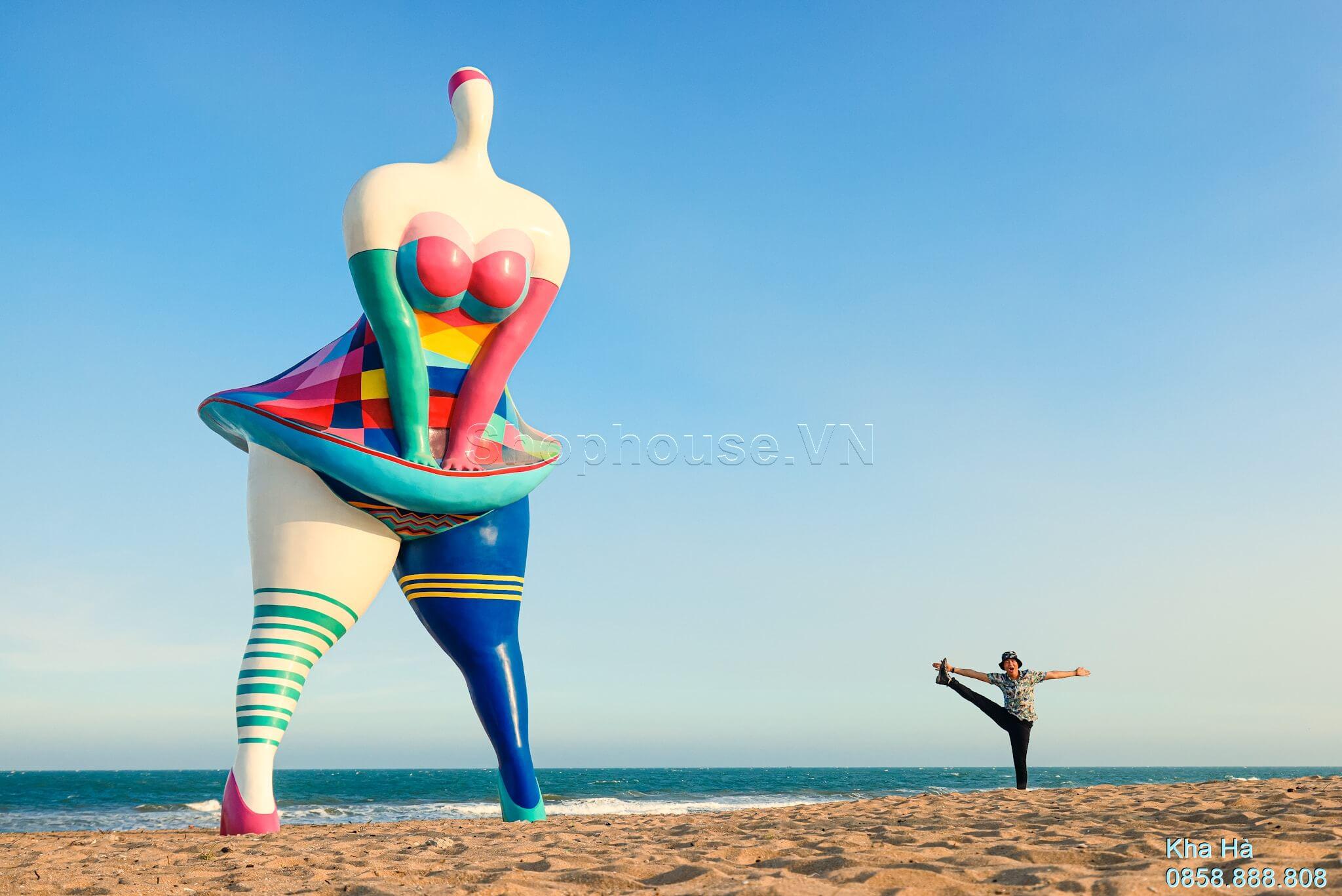 Marilyn-Monroe-bieu-tuong-tai-bien-Biniki-Beach-16ha-NovaWorld-Phan-Thiet