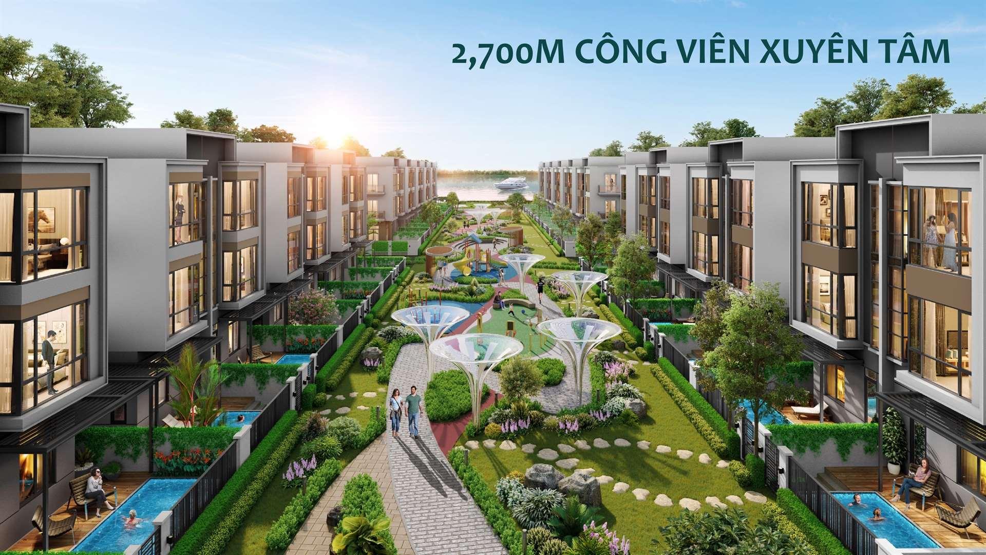cong-vien-xuyen-tam-Aqua-City-phan-khu-Dao-Phuong-Hoang-Phoenix-South-Island