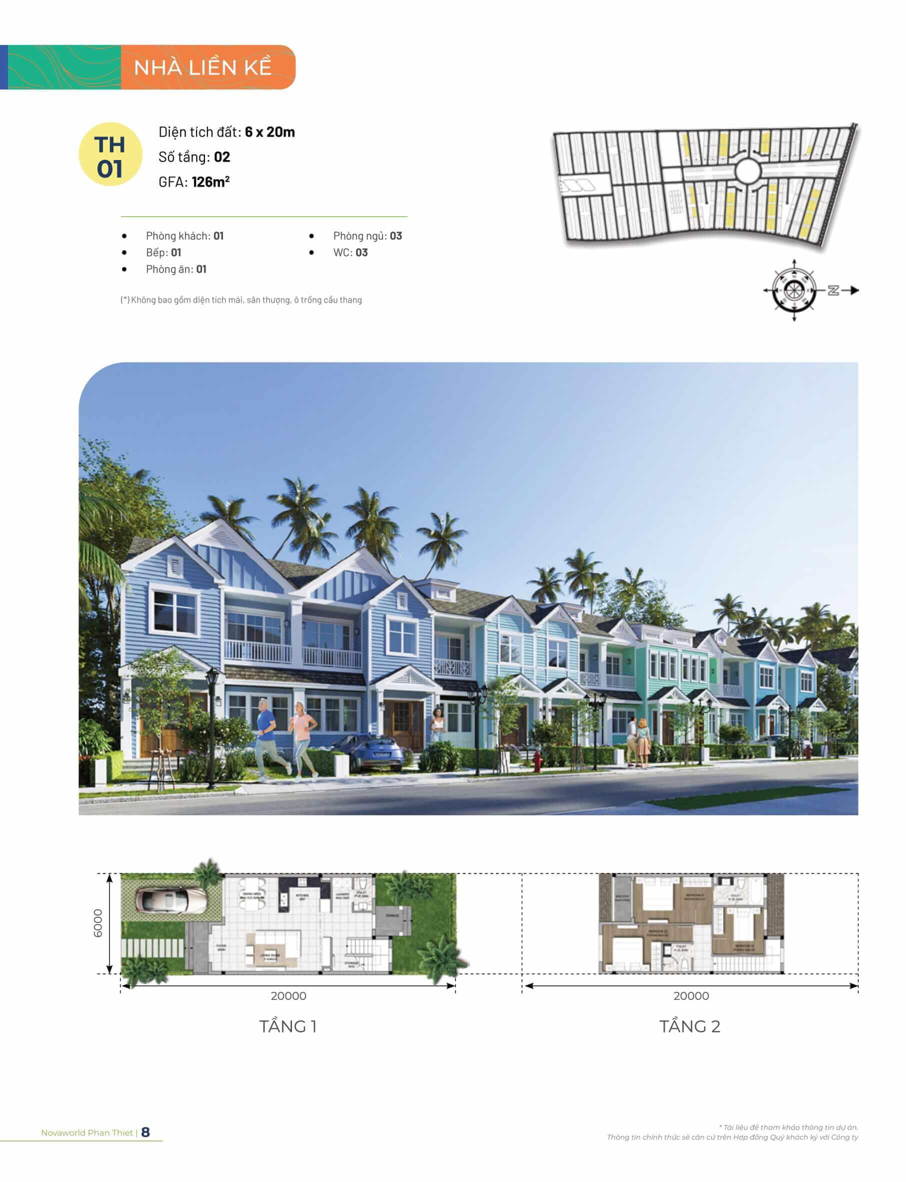 Mat-bang-tang-thiet-ket-ban-ve-Townhouse-nha-pho-lien-ke-phan-khu-4-novaworld-phan-thiet-dien-tich-6x20