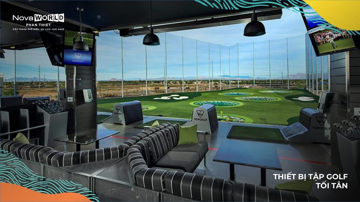 Sân tập đánh Golf hiện đại