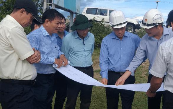 Lãnh đạo khảo sát xây dựng cao tốc Dầu Giây Phan Thiết
