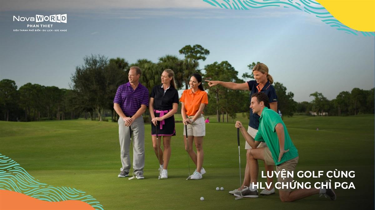 Chơi Golf quốc tế, gặp gỡ doanh nhân tài chính ngay tại Đô Thị Giải Trí Biển Lớn Nhất Đông Nam Á