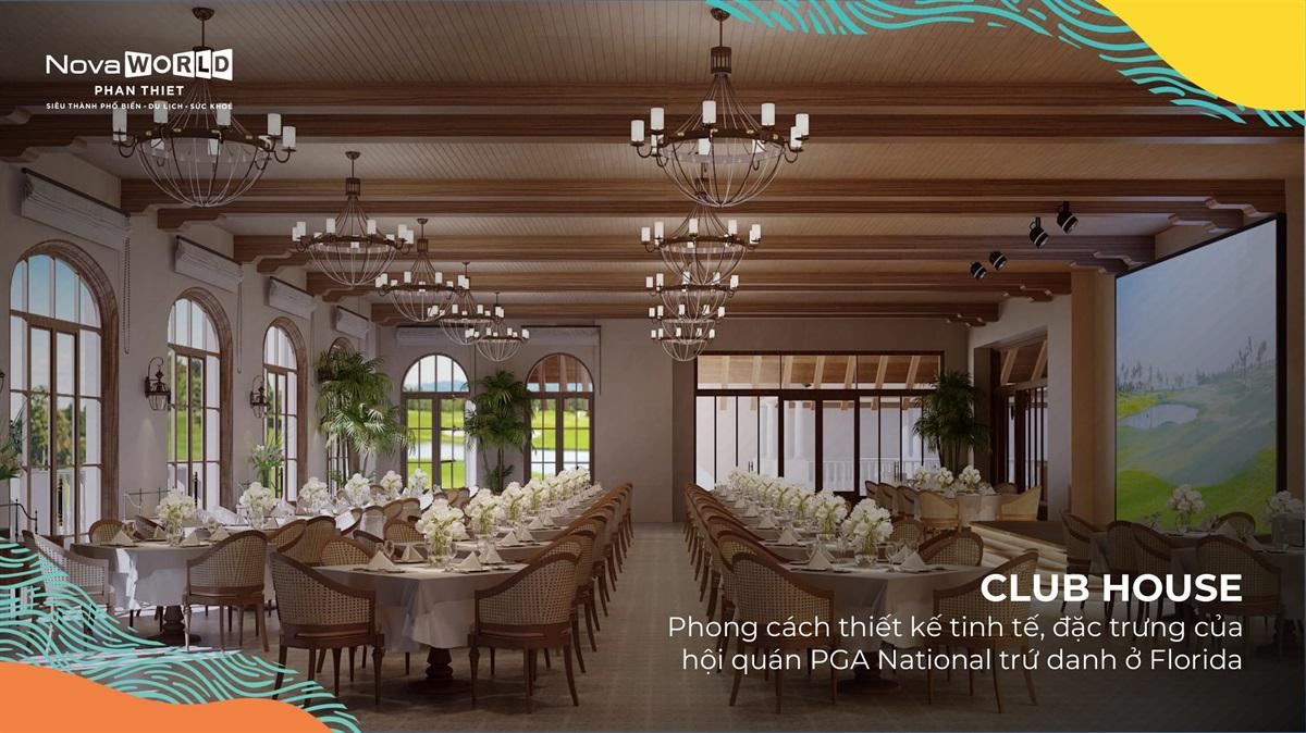 Club House training Villa Golf Phan Thiet
