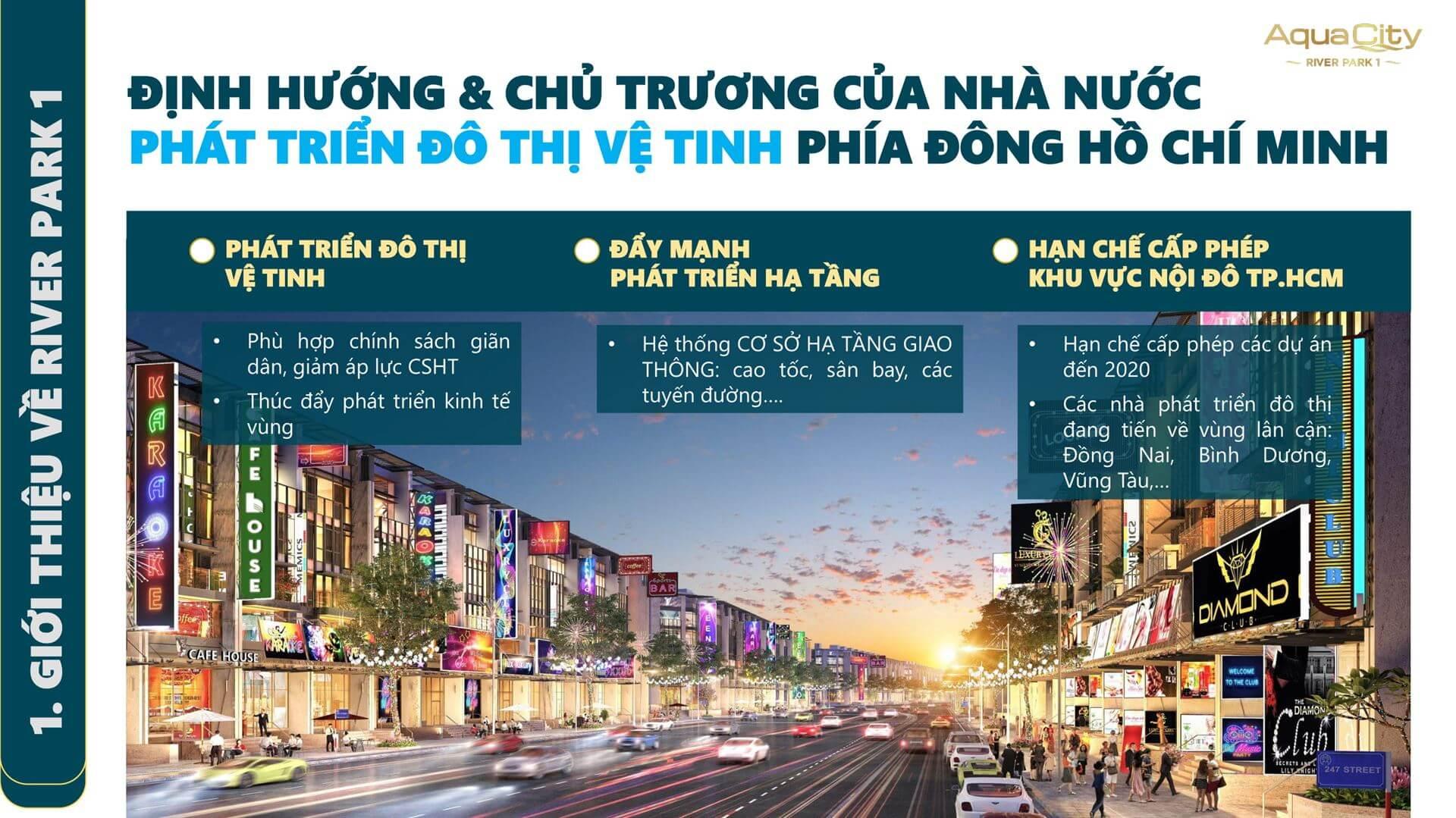 Khu đô thị phái đông TP HCM phát triển mạnh mẽ