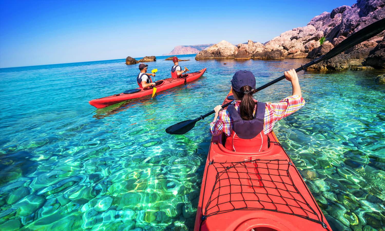 the-thao-dua-thuyen-kayak-tro-choi-cong-vien-bien-novaworld-phan-thiet