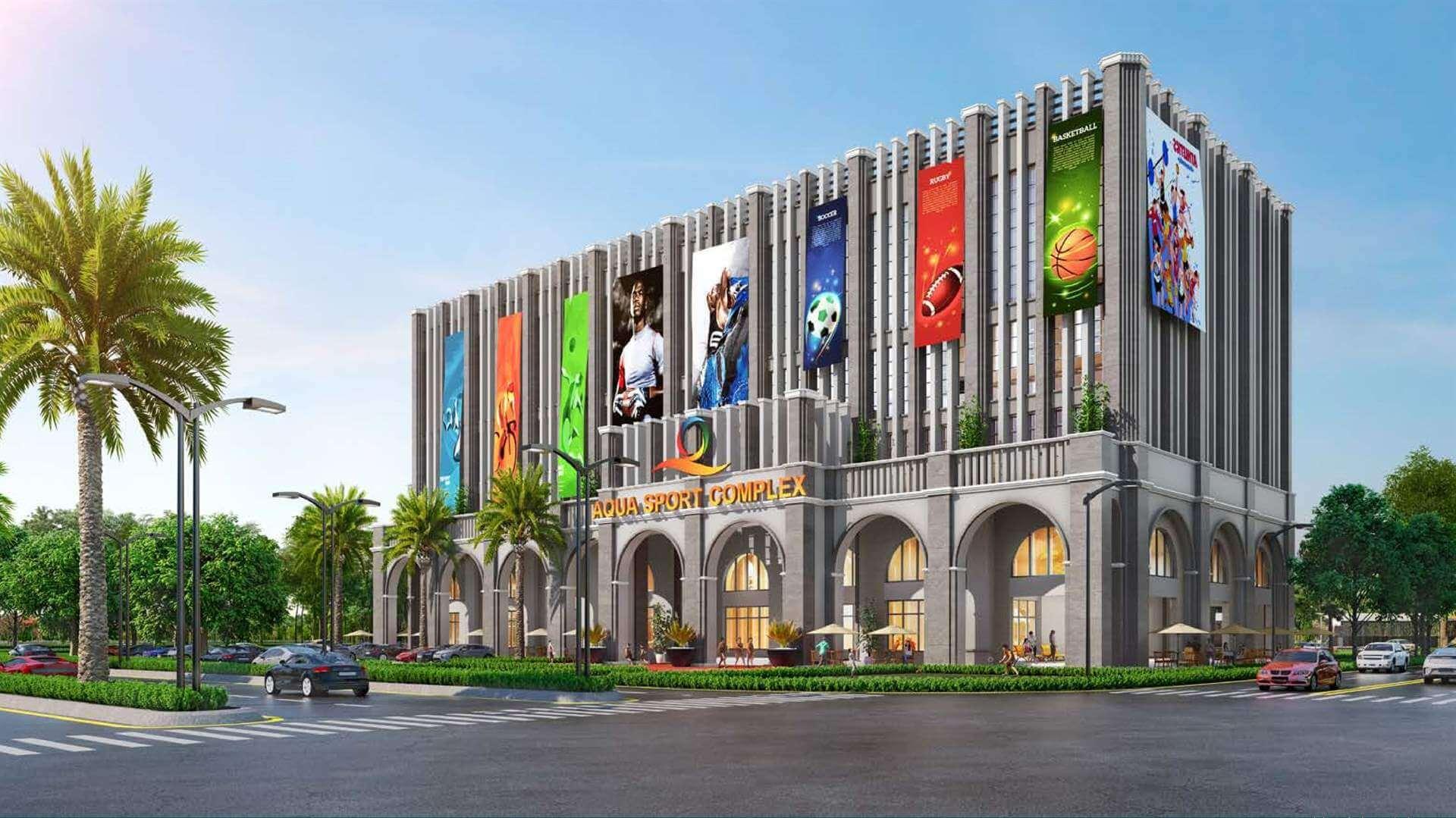 Aqua-Sport-Complex-8400m2-phoenixsouth-Aqua-City-Dao-Phuong-Hoang