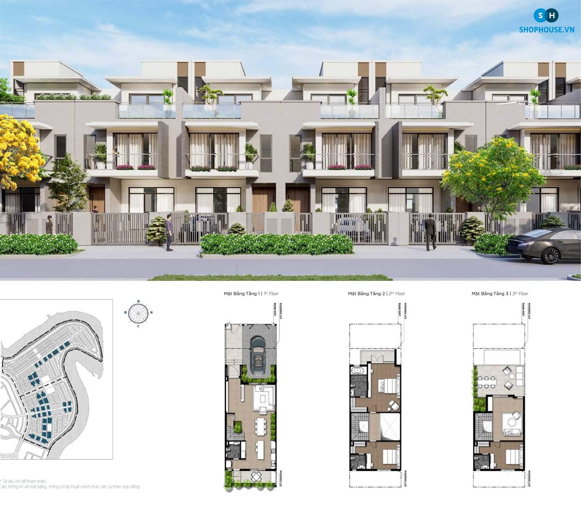 mat-bang-delux-green-house-phoenixsouth-Aqua-City-Dao-Phuong-Hoang-nha-pho-6.5x20