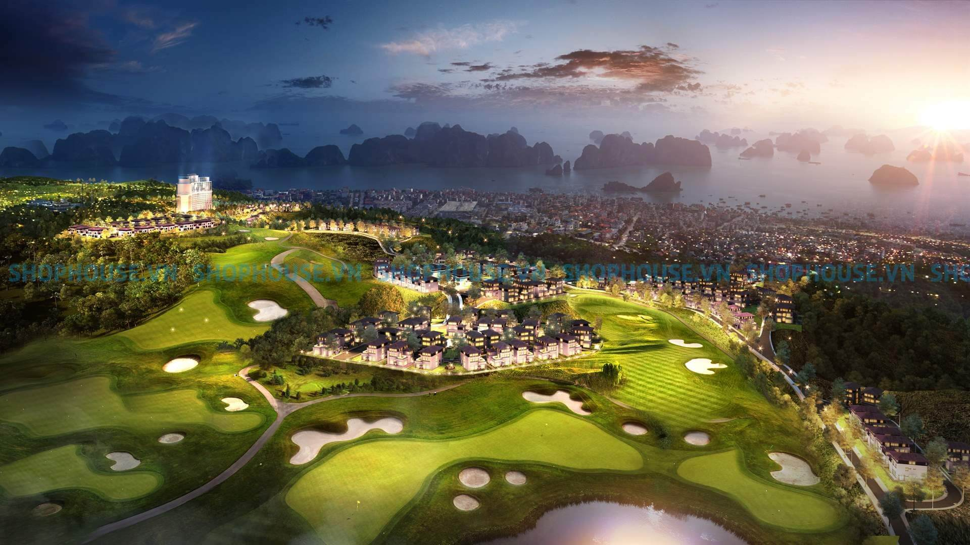 tien-ich-biet-thu-san-golf-view-doi-nhin-xuong-ho-nuoc-NovaWorld-Da-Lat-Novaland