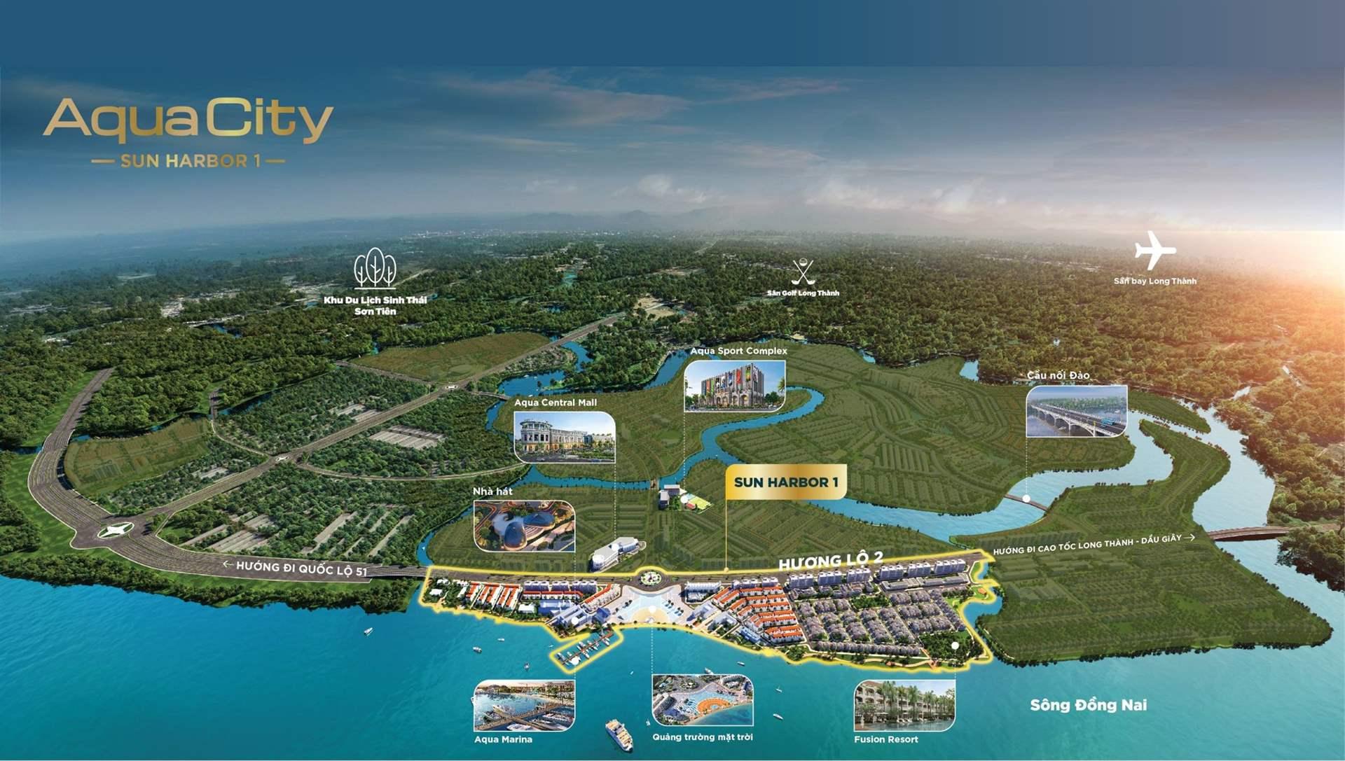 Sun Harbor 1 với điêm nhấn siêu độc đáo Bến Du Thuyền Marina tỷ đô