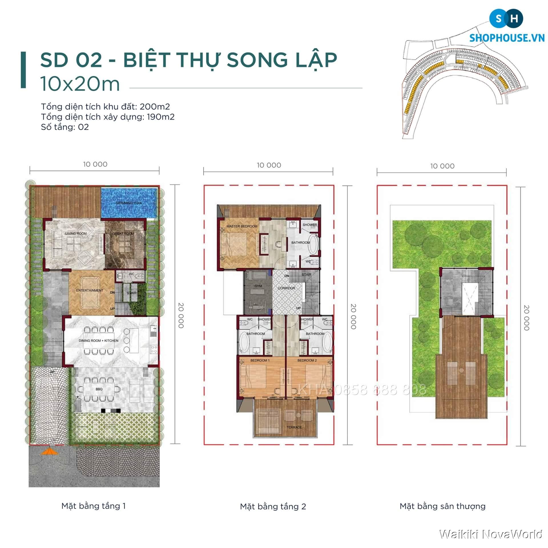 Waikiki-NovaWorld-mat-bang-tang-chi-tiet-biet-thu-villas-song-lap-10x20-SD02